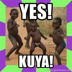 african kids dancing - YES! KUYA!