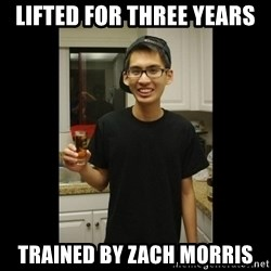 skinny kid - Lifted for Three Years Trained By Zach Morris