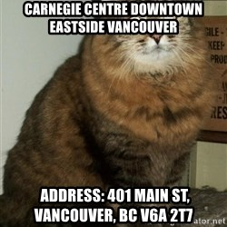 ZOE GREAVES DTES VANCOUVER - carnegie centre downtown eastside vancouver  Address: 401 Main St, Vancouver, BC V6A 2T7