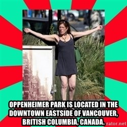 AMBER TROOCK DOWNTOWN EASTSIDE VANCOUVER -  Oppenheimer Park is located in the Downtown Eastside of Vancouver, British Columbia, Canada.