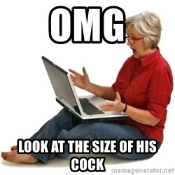 SHOCKED MOM! - Omg Look at the size of his cock