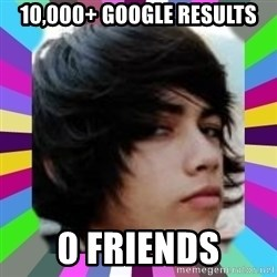 Andy Harglesis - 10,000+ google results 0 friends