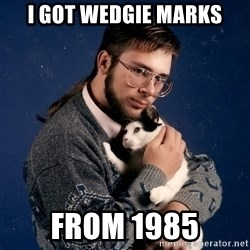 Look Mittens - I got wedgie marks From 1985