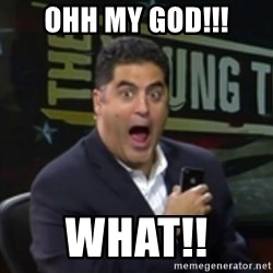Surprised Cenk - ohh my god!!! what!!