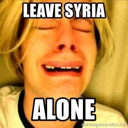 Leave Brittney Alone - leave syria alone