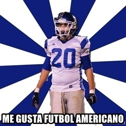 Highschool Football Kid -  me gusta futbol americano