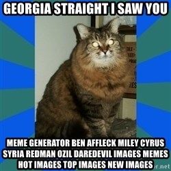 AMBER DTES VANCOUVER - georgia straight i saw you Meme Generator ben affleck miley cyrus syria redman ozil daredevil Images Memes Hot Images Top Images New Images