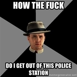 L A Noire Cole - How the fuck Do I get out of this police station