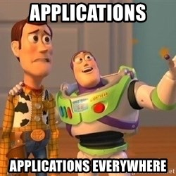 Consequences Toy Story - Applications Applications everywhere