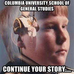 PTSD Clarinet Boy - Columbia University School of General Studies continue your story.....