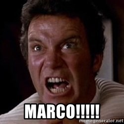 Khan -  MARCO!!!!!