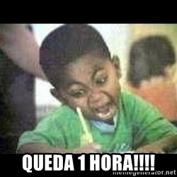 Black kid coloring -  Queda 1 hora!!!!