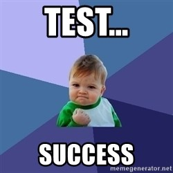Success Kid - test…  success