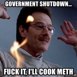 breaking_ - Government Shutdown... Fuck it, I'll cook meth