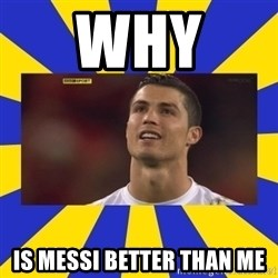 CRISTIANO RONALDO INYUSTISIA - WHY  Is Messi better than me