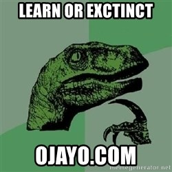 Philosoraptor - Learn or Exctinct OJAYO.com
