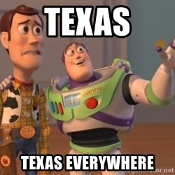 buzz light - texas texas everywhere