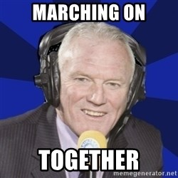 Optimistic Eddie Gray  - marching on together
