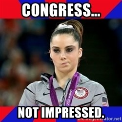 Mckayla Maroney Does Not Approve - Congress... Not impressed.