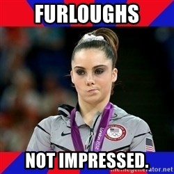 Mckayla Maroney Does Not Approve - Furloughs Not impressed.