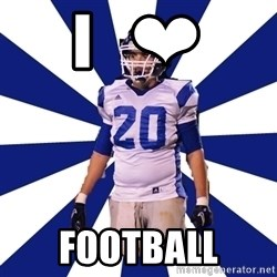 Highschool Football Kid - I   ❤ FOOTBALL