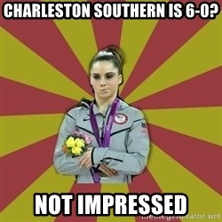 Not Impressed Makayla - Charleston Southern is 6-0? Not impressed