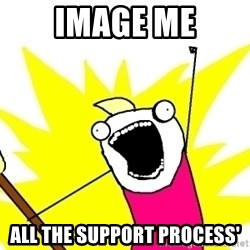 X ALL THE THINGS - image me ALL THE SUPPORT PROCESS'