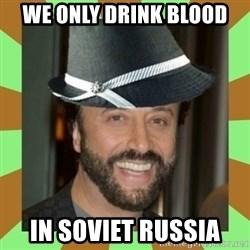 RussianFedora - we only drink blood in soviet russia