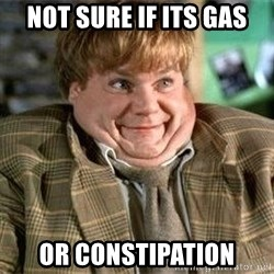TommyBoy  - Not sure if its gas or constipation