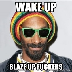 Snoop lion2 - wake up  blaze up fuckers