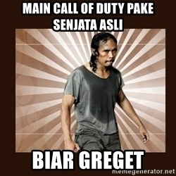MadDog (The Raid) - main call of duty pake senjata asli biar greget