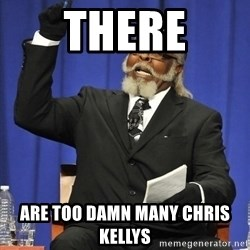 Rent Is Too Damn High - There are TOO DAMN MANY Chris Kellys