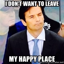 Dallas Eakins - I don't want to leave my happy place