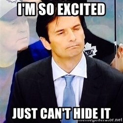 Dallas Eakins - I'M so excited Just can't hide it