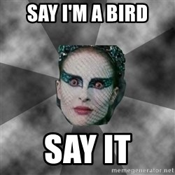 Black Swan Eyes - Say I'm a Bird SAY IT