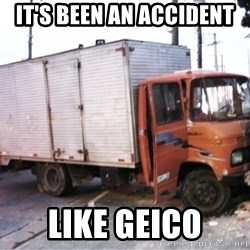 Yeezus Truck - It's been an accident like geico