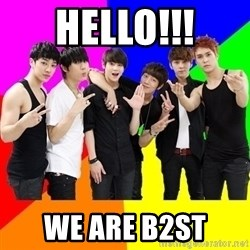 b2st - HELLO!!! WE ARE B2ST