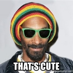 Snoop lion2 -  That's cute