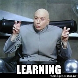 dr. evil quotation marks -  LEARNING