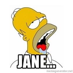 Homer Simpson Drooling -  jane...