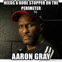 Dwane Casey's Guide to Smallball - needs a kobe stopper on the perimeter aaron gray