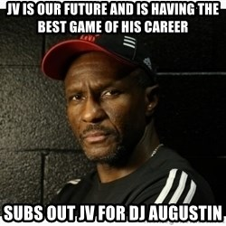 Dwane Casey's Guide to Smallball - JV is our future and is having the best game of his career subs out jv for dj augustin
