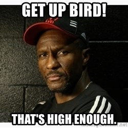 Dwane Casey's Guide to Smallball - Get up Bird! That's high enough.