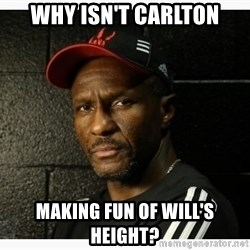 Dwane Casey's Guide to Smallball - why isn't carlton making fun of will's height?
