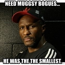 Dwane Casey's Guide to Smallball - Need Muggsy Bogues... He was the the Smallest.