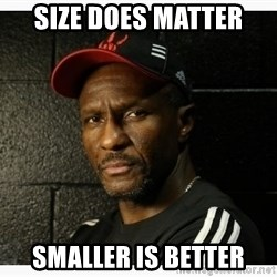 Dwane Casey's Guide to Smallball - Size does matter Smaller is better