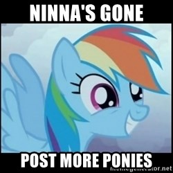Post Ponies - Ninna's gone Post more ponies