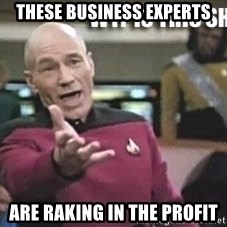 Patrick Stewart WTF - These Business Experts Are raking in the profit