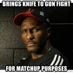 Dwane Casey's Guide to Smallball - brings knife to gun fight for matchup purposes