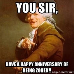 Joseph Ducreux - you sir, have a happy anniversary of being zoned!!